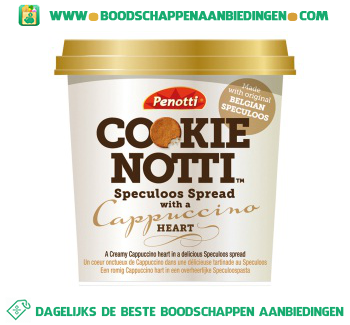 Speculoos spread cappuccino aanbieding