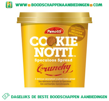 Cookie Notti Speculoos spread crunchy aanbieding
