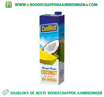 Coconut mango tango aanbieding