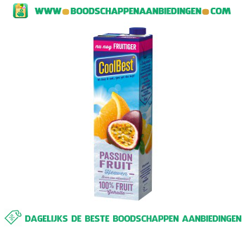 Coolbest Passion fruit heaven aanbieding