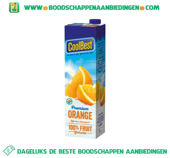 Coolbest Premium orange aanbieding