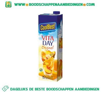 Coolbest Vita day original aanbieding