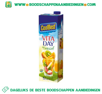 Coolbest Vita day tropical aanbieding