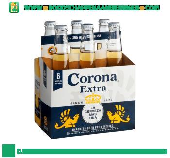 Corona Extra pak 6 flesjes aanbieding
