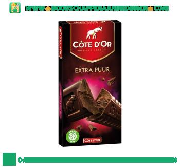 Côte d'Or Chocoladereep extra puur aanbieding