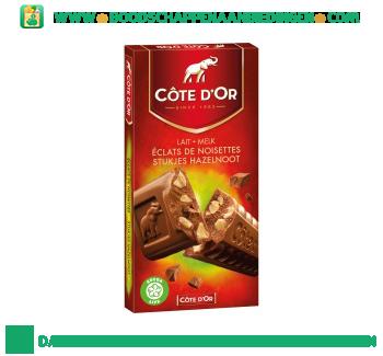 Côte d'Or Chocoladereep melk & hazelnoot aanbieding