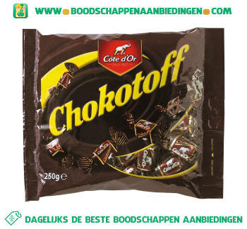 Côte d'Or Chokotoff puur aanbieding