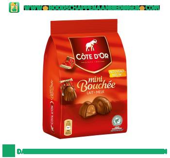 Côte d'Or Mini bouchee aanbieding