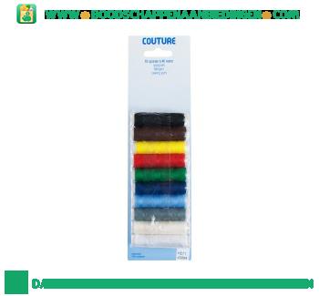Polyestergaren 10 kleuren aanbieding