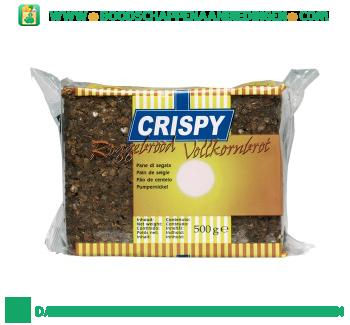 Crispy Roggebrood aanbieding
