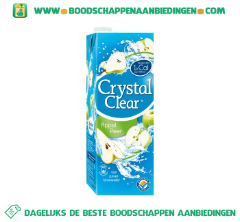 Crystal Clear Appel & peer aanbieding