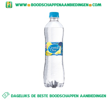 Crystal Clear Sparkling lemon aanbieding