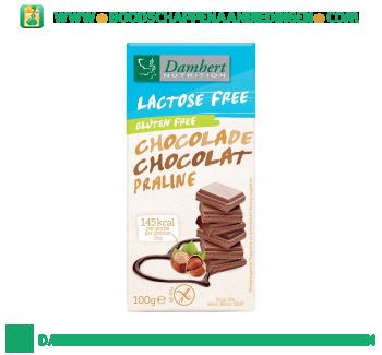 Damhert Chocolade reep praline glutenvrij aanbieding