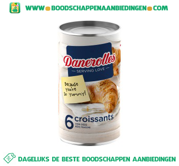 Danerolles Croissants aanbieding
