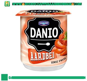 Danio Romige kwark aardbeien aanbieding