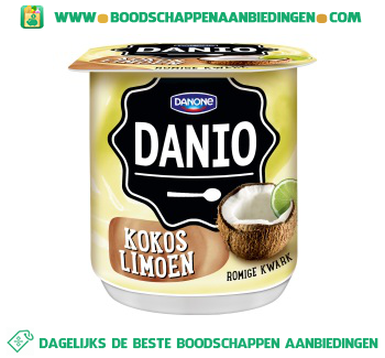 Danio Romige kwark kokos limoen aanbieding