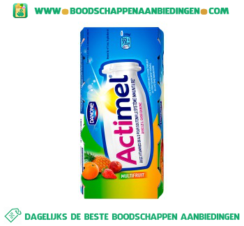 Danone Actimel multifruit aanbieding