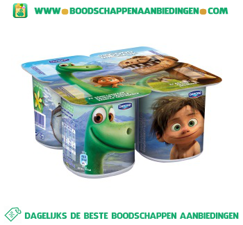 Danone The good dinosaur yoghurt aanbieding