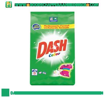 Dash Color waspoeder 15 wasbeurten aanbieding