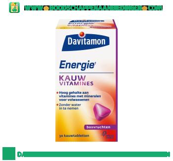 Davitamon Energie kauwvitamines bosvruchten aanbieding