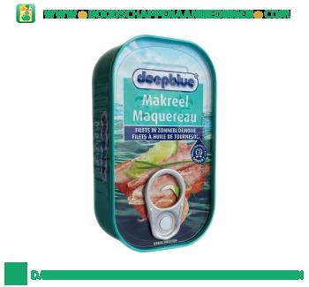 Deepblue Makreelfilets in zonnebloemolie aanbieding