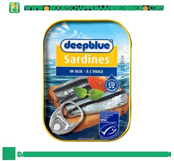 Deepblue Sardines in olie aanbieding