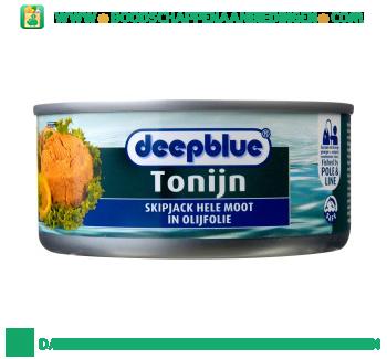 Deepblue Tonijnmoot in olijfolie aanbieding