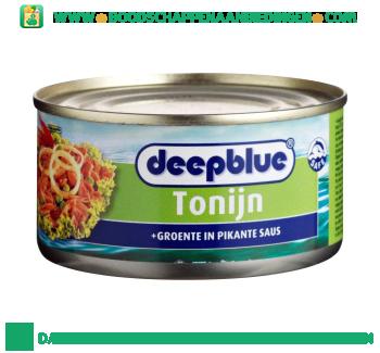 Tonijnstukken met groente in pikante saus aanbieding