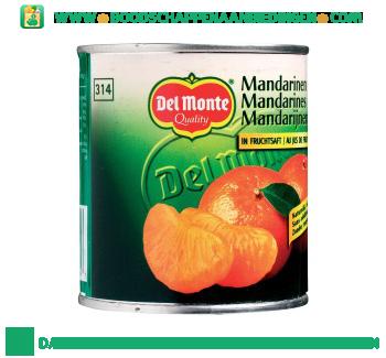 Del Monte Mandarijnen op sap aanbieding