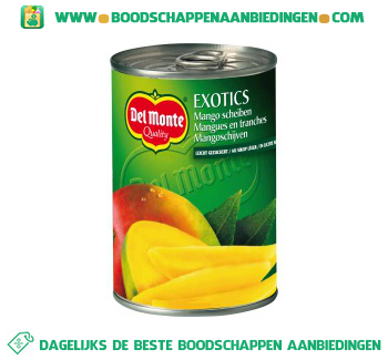 Del Monte Mango aanbieding