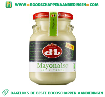 D&L Mayonaise met citroen aanbieding