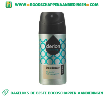 Derlon Deospray for men aanbieding