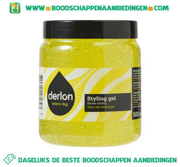 Derlon Styling gel extra strong aanbieding