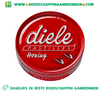 Diele Honing pastilles aanbieding