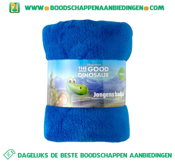 Disney Badjas The Good Dinosaur maat 116/122 aanbieding