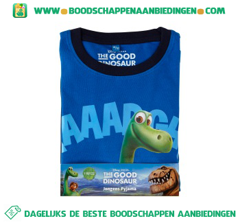 Disney Pyjama The Good Dinosaur maat 116/122 aanbieding