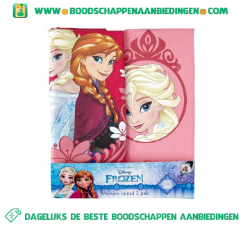 Disney Singlet Frozen maat 104/110 pak 2 stuks aanbieding