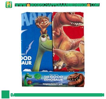 Disney Singlet The Good Dinosaur maat 104/110 pak 2 stuks aanbieding