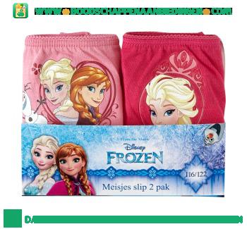 Disney Slips Frozen maat 116/122 pak 2 stuks aanbieding