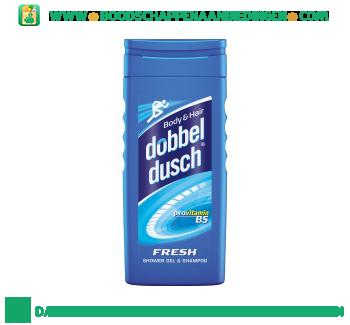 Dobbeldusch Fresh shower gel & shampoo aanbieding