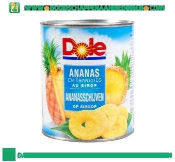 Dole Ananasschijven op sap aanbieding