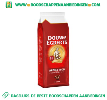 Douwe Egberts Aroma rood koffiebonen aanbieding