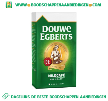 Douwe Egberts Mildcafé snelfiltermaling aanbieding