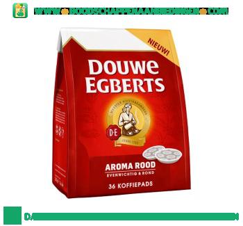 Douwe Egberts Pads aroma rood aanbieding