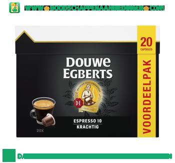 Douwe Egberts Voordeelpak Espresso krachtig aanbieding