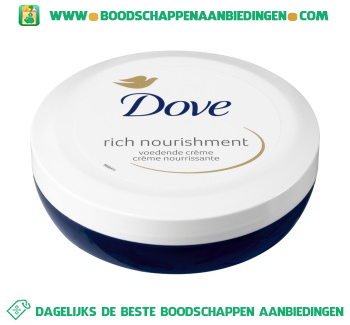 Dove Bodycrème rich nourishment aanbieding