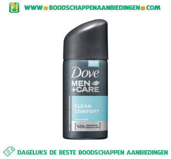 Dove Deodorant mini men + care clean comfort aanbieding