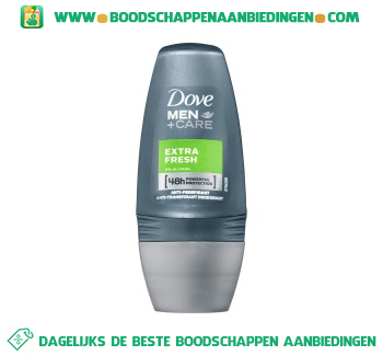 Dove Deoroller extra fresh men aanbieding