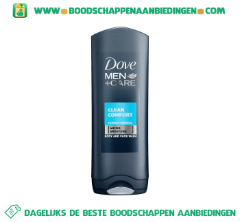 Dove Douche men care clean comfort aanbieding