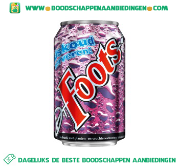 Dr. Foots Cola regular aanbieding